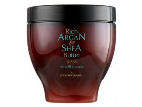 KLÉRAL Argan and Shea Butter Mask 500ml - intenzivní maska s arganovým olejem