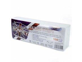 RONNEY Professional Waxing Strips 100 - depilační papírky - hladké 100ks