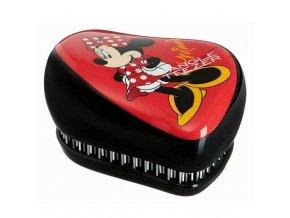 TANGLE TEEZER Compact Minnie Mouse Rosy Red - limitovaná edice kompaktního kartáče