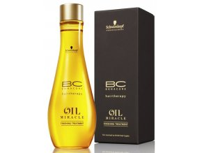 SCHWARZKOPF BC Bonacure Oil Miracle Finishing Treatment regenerační péče 100ml