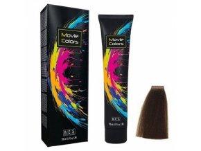 BES Movie Colors 5.0 Light Brown - gelová barva na vlasy bez amoniaku 170ml - světle hnědá