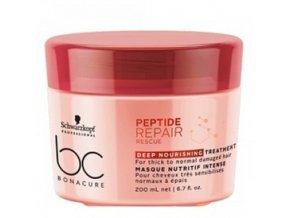 SCHWARZKOPF BC Repair Deep Nourishing Treatment 200ml - maska na velmi poškozené vlasy