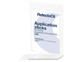 REFECTOCIL Application Sticks Soft 10ks - Set aplikačních tyčinek k nanášení barev