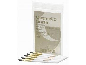 REFECTOCIL Cosmetic Brush Hard 5ks - Zešikmené štětečky pro snadnou aplikaci barev