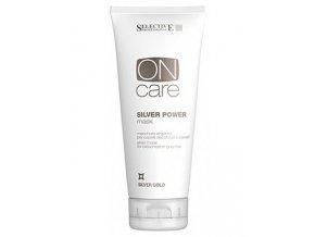 SELECTIVE ON Care Silver Power Mask 200ml - maska pro studené odstíny blond vlasů