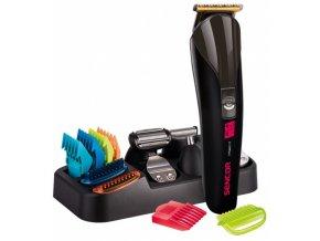 SENCOR SHP 7411BK Men´s Electric Clipper SET - k stříhání vlasů, vousů, chloupků aj.