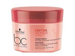 SCHWARZKOPF BC Peptide Repair Treatment 200ml - regener. maska na poškozené vlasy