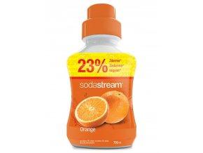 SODASTREAM Sirupy Sirup Orange Velký 750ml - pro 18l nápoje