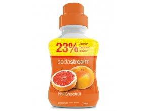SODASTREAM Sirupy Sirup Pink Grapefruit Velký 750ml - pro 18l nápoje