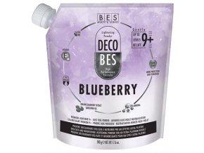 BES Decobes Blueberry Pure White 500g - melír s ultraplatin efektem, zesv. o 7-8 tónů