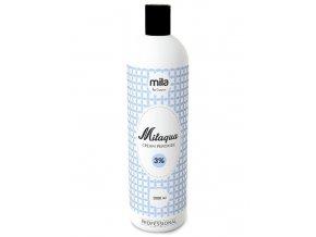 MILAQUA 3% Cream Peroxide 1000ml - oxidant, krémový peroxid vodíku
