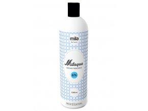 MILAQUA 6% Cream Peroxide 1000ml - oxidant, krémový peroxid vodíku