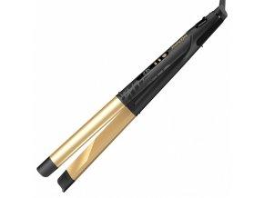 BABYLISS ST440E Creative Gold Ceramic 2v1 - žehlička 24 x 120mm, kulma průměr 28mm