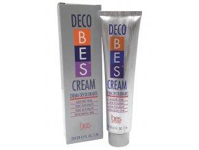 BES Decobes Cream Bleaching 220g - krémový melír na vlasy, zesv. o 5 tónů