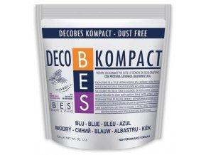 BES Decobes Kompact Dust Free 500g - modrý melírovací prášek,  zesvětlení o 5-6 tónů