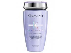 KÉRASTASE Blond Absolu Bain Ultra-Violet 250ml - šampon pro neutralizaci žlutého tónu