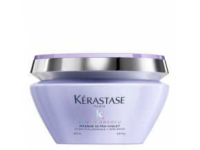 KÉRASTASE Blond Absolu Masque Ultra-Violet 200ml - maska pro neutralizaci žlutého tónu