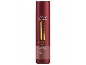 LONDA Velvet Oil Argan Oil Conditioner 250ml - regenerační kondicioner s arganovým olejem