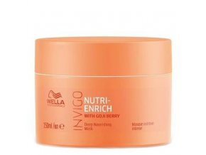 WELLA Invigo Nutri Enrich Deep Nourishing Mask 150ml - maska pro suché poškozené vlasy