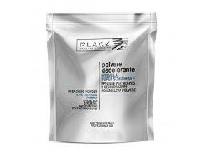 BLACK Melír Polvere Decolorante 500g sáček - odbarvovací a melírovací prášek - modrý