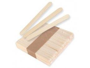 POLLIÉ Dřevěné špachtle k nanášení depilačního vosku 115 x 15mm - 100ks