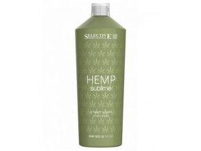 SELECTIVE Hemp Sublime Conditioner 1000ml - kondic s konopným olejem pro suché vlasy