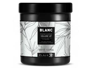 BLACK Blanc Volume Up Mask 1000ml - maska pro objem jemných vlasů