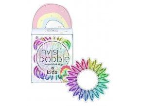 INVISIBOBBLE Original Kids Magic Rainbow 3ks - Spirálové gumičky do vlasů - duhové