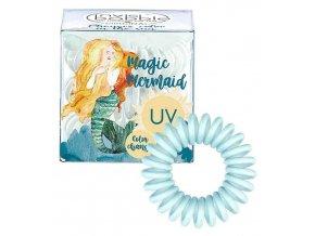INVISIBOBBLE Original UV Magic Mermaid Ocean Tango 3ks - Spirálové gumičky - azurové