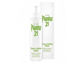 PLANTUR 21 Nutri-kofeinový elixír intenzivně chrání před vypadáváním vlasů 200ml