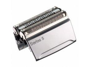 BRAUN Series 5-52S CombiPack Silver - náhradní planžeta pro strojky Braun Series 5 - stříbrná