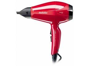BABYLISS 6615E Profesionální fén na vlasy s ionizátorem - 2300W - červený