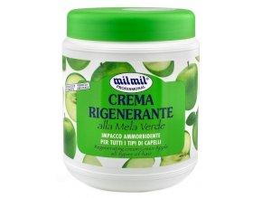 MIL MIL Green Apple Regenerační krém zelené jablko pro všechny typy vlasů 1000ml