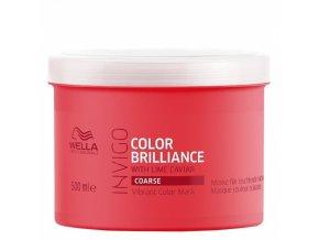 WELLA Invigo Color Brilliance Coarse Treatment 500ml - kúra pro silné barvené vlasy
