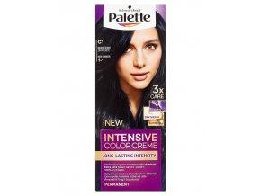 SCHWARZKOPF Palette C1 (1-1) Intensive Color Creme - barva na vlasy - Modročerná