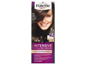 SCHWARZKOPF Palette N3 (4-0) Intensive Color Creme - barva na vlasy - Středně hnědá