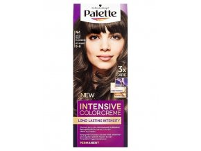 SCHWARZKOPF Palette N4 (5-0) Intensive Color Creme - barva na vlasy - Světle hnědá
