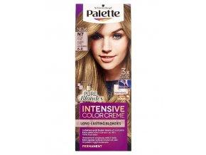 SCHWARZKOPF Palette N7 (8-0) Intensive Color Creme - barva na vlasy - Světle plavá