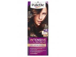 SCHWARZKOPF Palette W2 (3-65) Intensive Color Creme - barva na vlasy - Tmavě čokoládová