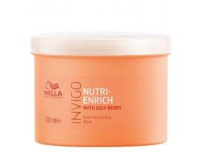 WELLA Invigo Nutri Enrich Deep Nourishing Mask 500ml - maska pro suché poškozené vlasy