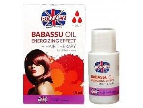 RONNEY Babassu Oil 15ml - olej pro barvené a zářivé vlasy