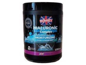 RONNEY Hialuronic Complex Mask 1000ml - maska pro suché a poškozené vlasy