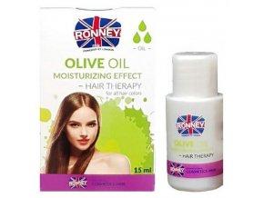 RONNEY Olive Moisturizing Oil 15ml - zvlhčující olej pro suché vlasy