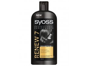 SYOSS Professional Renew 7 Shampoo 500ml - šampon pro velmi poškozené vlasy