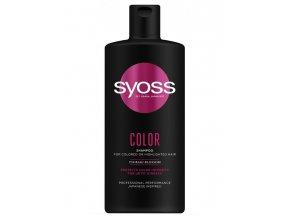SYOSS Professional Color Shampoo 440ml - pro barvené a zesvětlené vlasy
