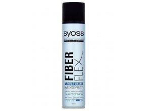 SYOSS Professional Fiber Flex Hairspray 300ml - objemový lak na vlasy, extra silná fixace