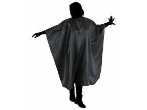 DUKO Pomůcky Kadeřnické pláštěnka na stříhání vlasů 125x150cm - černá
