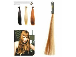SO.CAP. Rovné vlasy 8001LC 35-40cm pramen melír odstínů M20-27
