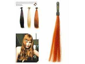 SO.CAP. Rovné vlasy 8001LC 35-40cm pramen melír odstínů M21-130