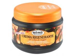 MIL MIL Argan Regenerační krém s arganovým olejem pro všechny typy vlasů 500ml